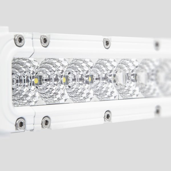 10 LED Lightbar SR-X 10° 35° 50W white